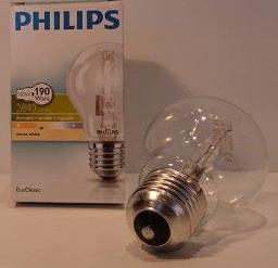 Philips 140W Halogen pære E27 =190W