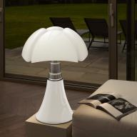 Pipistrello Medium 1965 Bordlampe Hvid