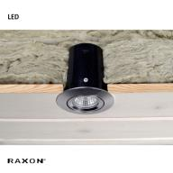 LD800 SafeSpot LED Gu10 Satin chrom